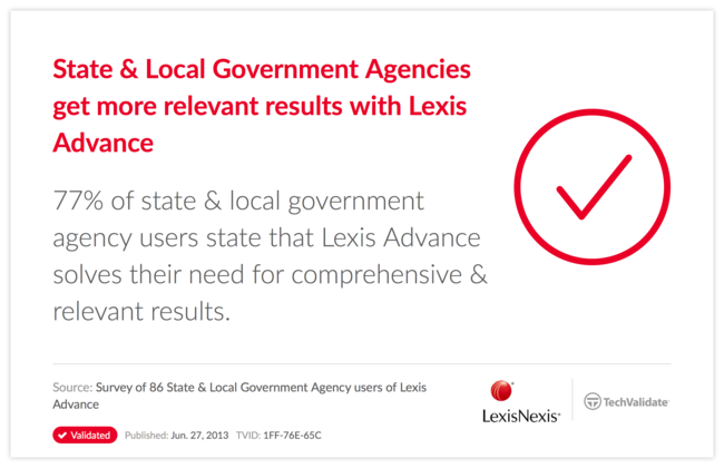 State & Local Government Agencies get more relevant results with Lexis Advance