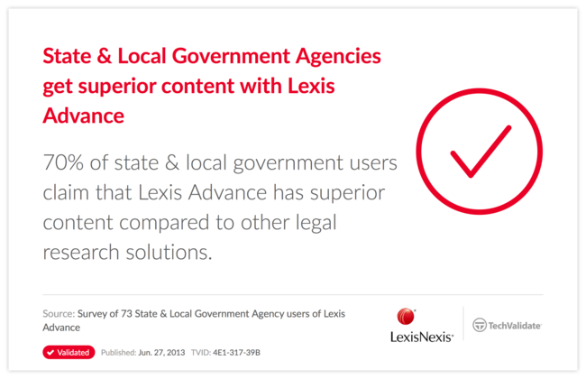 State & Local Government Agencies get superior content with Lexis Advance