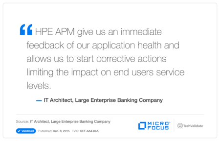 HP Application Performance Management Customer Testimonial