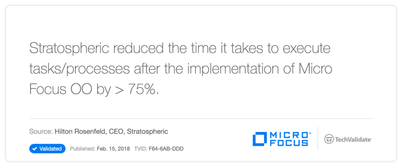 HP Operations Orchestration Software Customer Statement