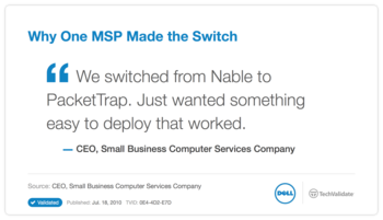 Why One MSP Made the Switch