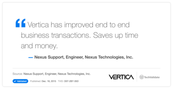 HP Software Vertica Customer Testimonial