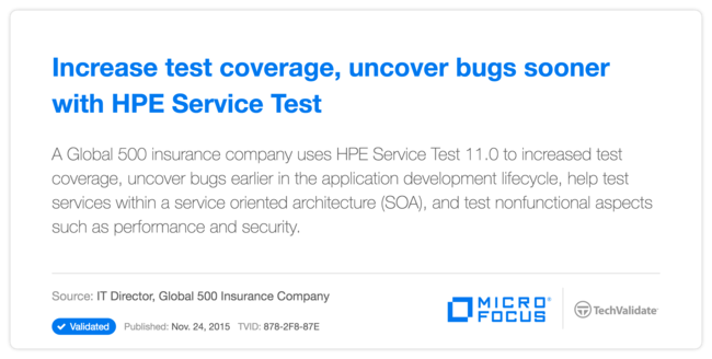 Increase test coverage, uncover bugs sooner with HP Service Test