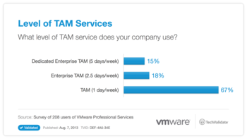 Level of TAM Services