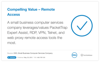 Compelling Value - Remote Access
