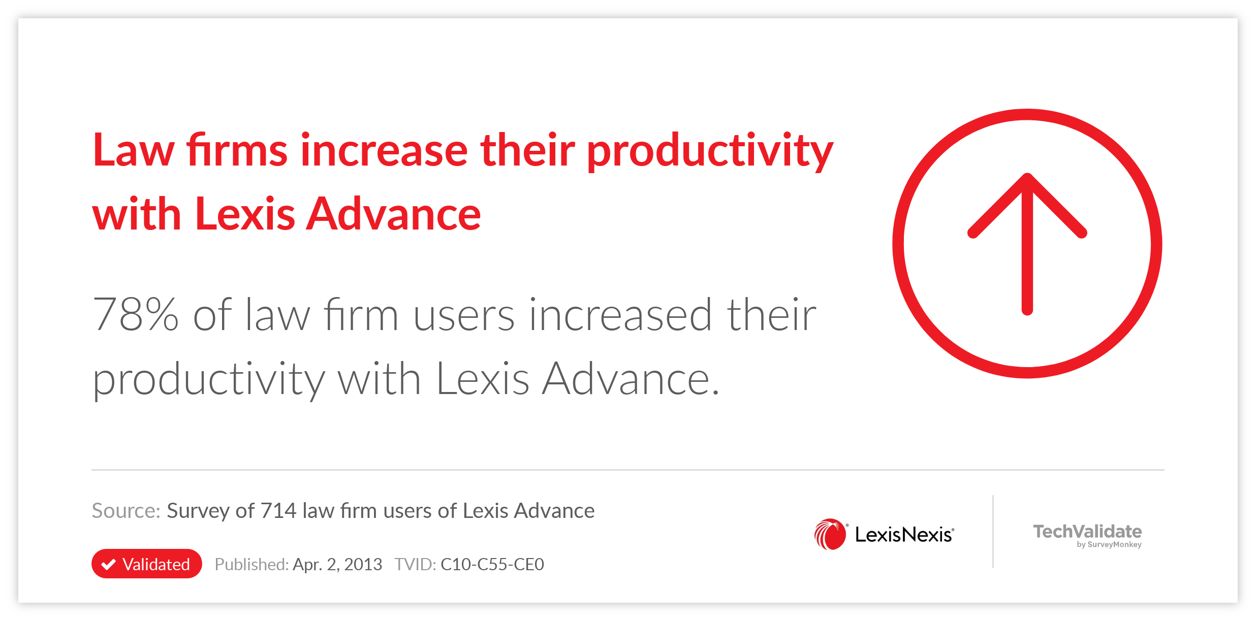 Law firms increase their productivity with Lexis Advance