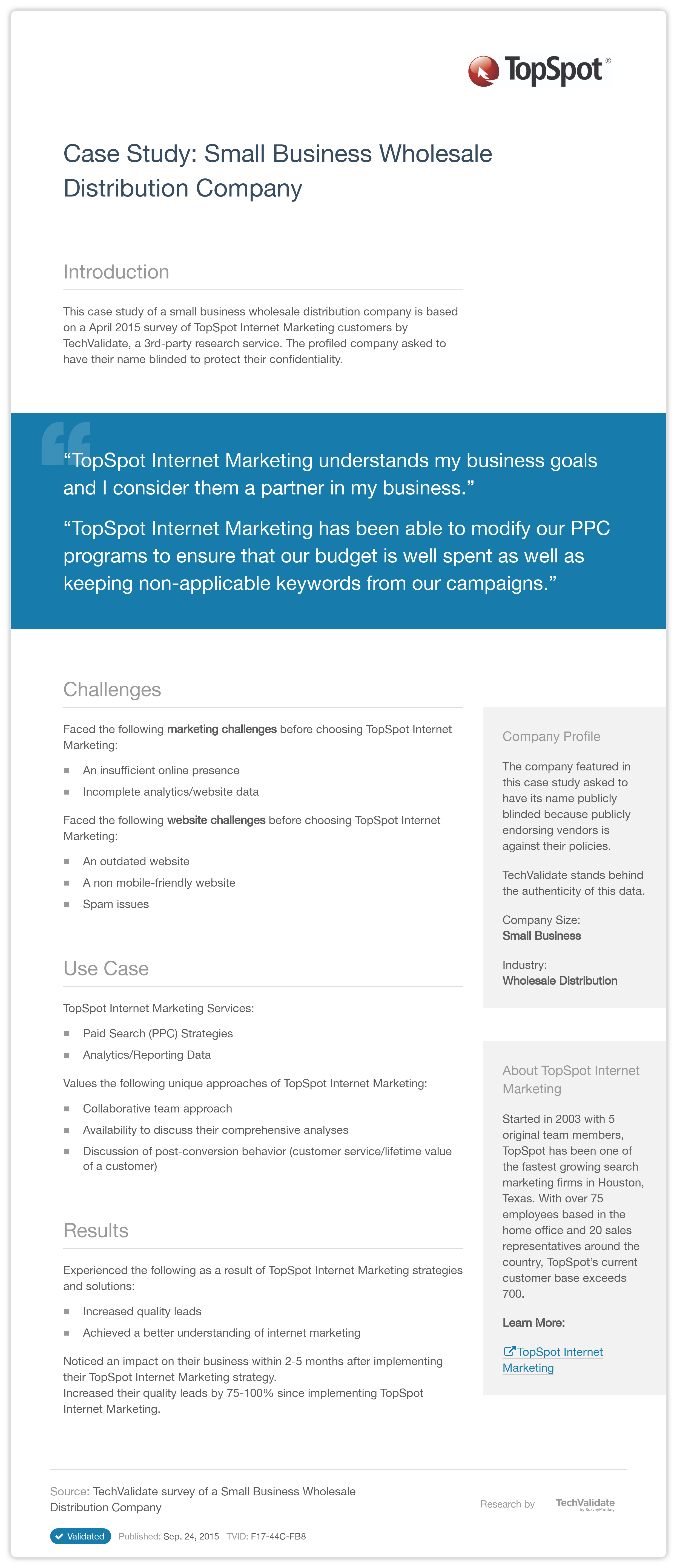 small business mobile marketing case studies