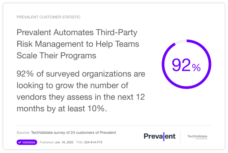 Prevalent Automates Third-Party Risk Management to Help Teams Scale Their Programs