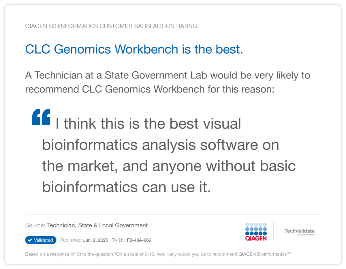 CLC Genomics Workbench is the best.