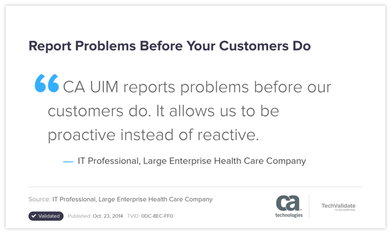 Report Problems Before Your Customers Do