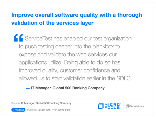 Improve overall software quality with a thorough validation of the services layer