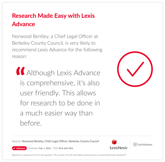 Research Made Easy with Lexis Advance