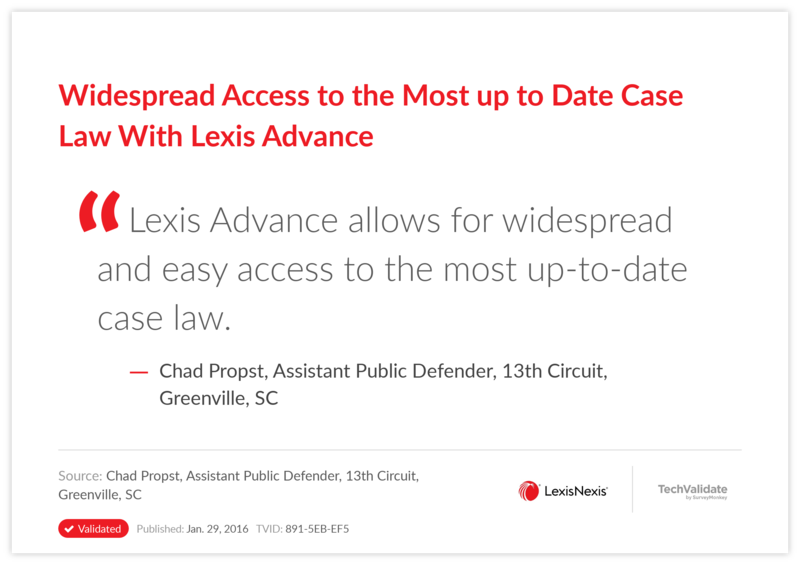 Widespread Access to the Most up to Date Case Law With Lexis Advance