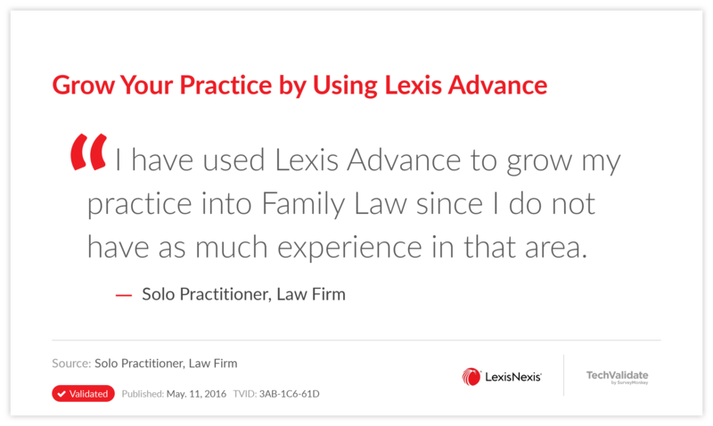 Grow Your Practice by Using Lexis Advance