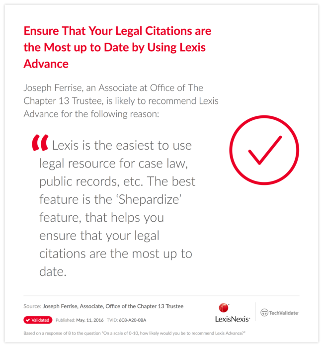 Ensure That Your Legal Citations are the Most up to Date by Using Lexis Advance