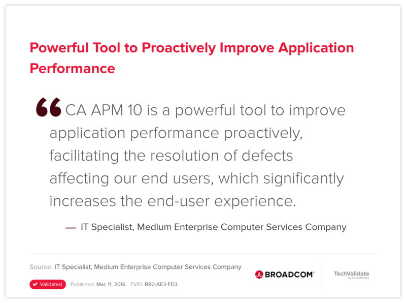 Powerful Tool to Proactively Improve Application Performance