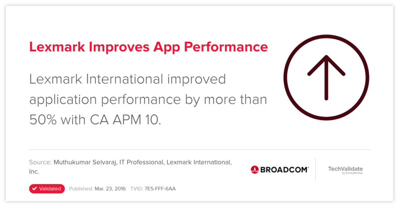 Lexmark Improves App Performance
