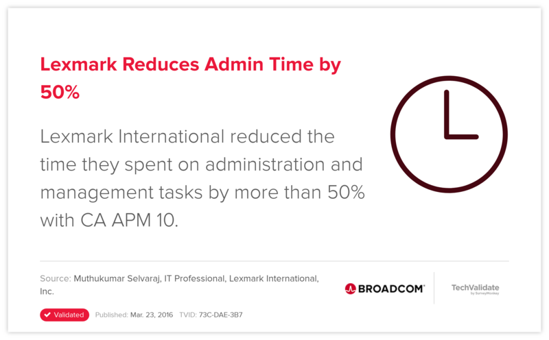 Lexmark Reduces Admin Time by 50%