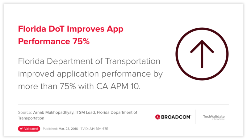 Florida DoT Improves App Performance 75%