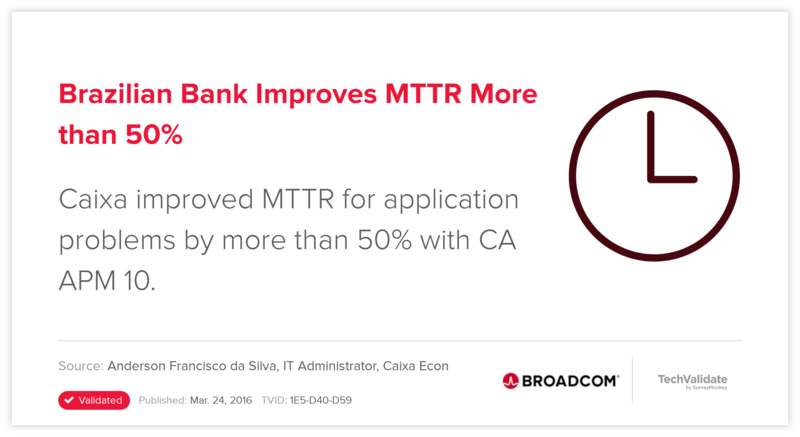 Brazilian Bank Improves MTTR More than 50%