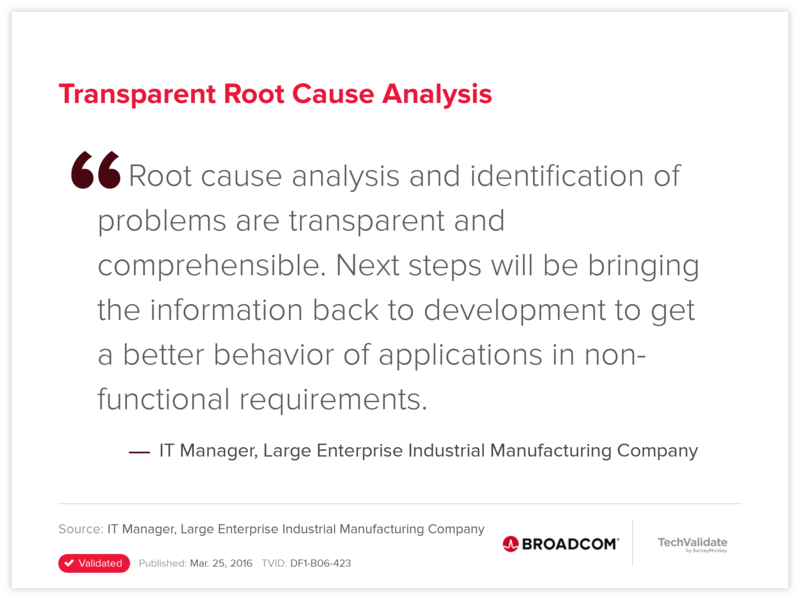 Transparent Root Cause Analysis