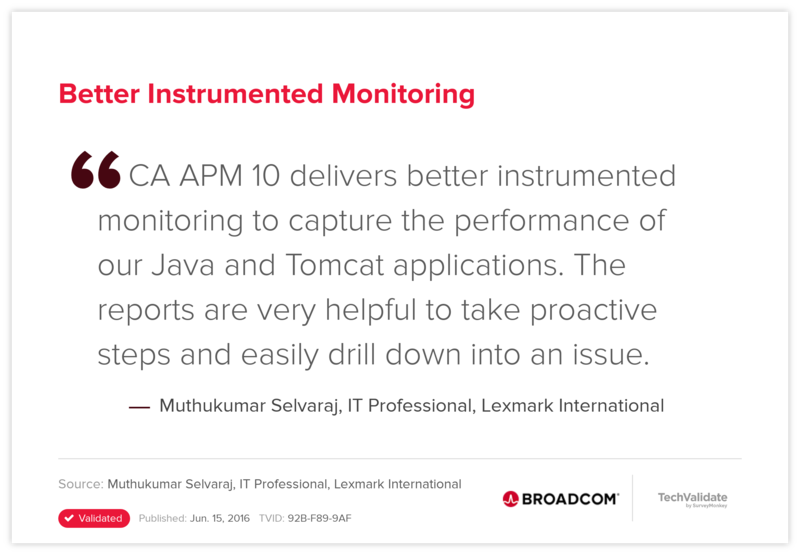 Better Instrumented Monitoring