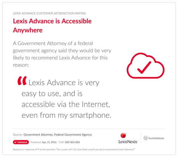 Lexis Advance is Accessible Anywhere