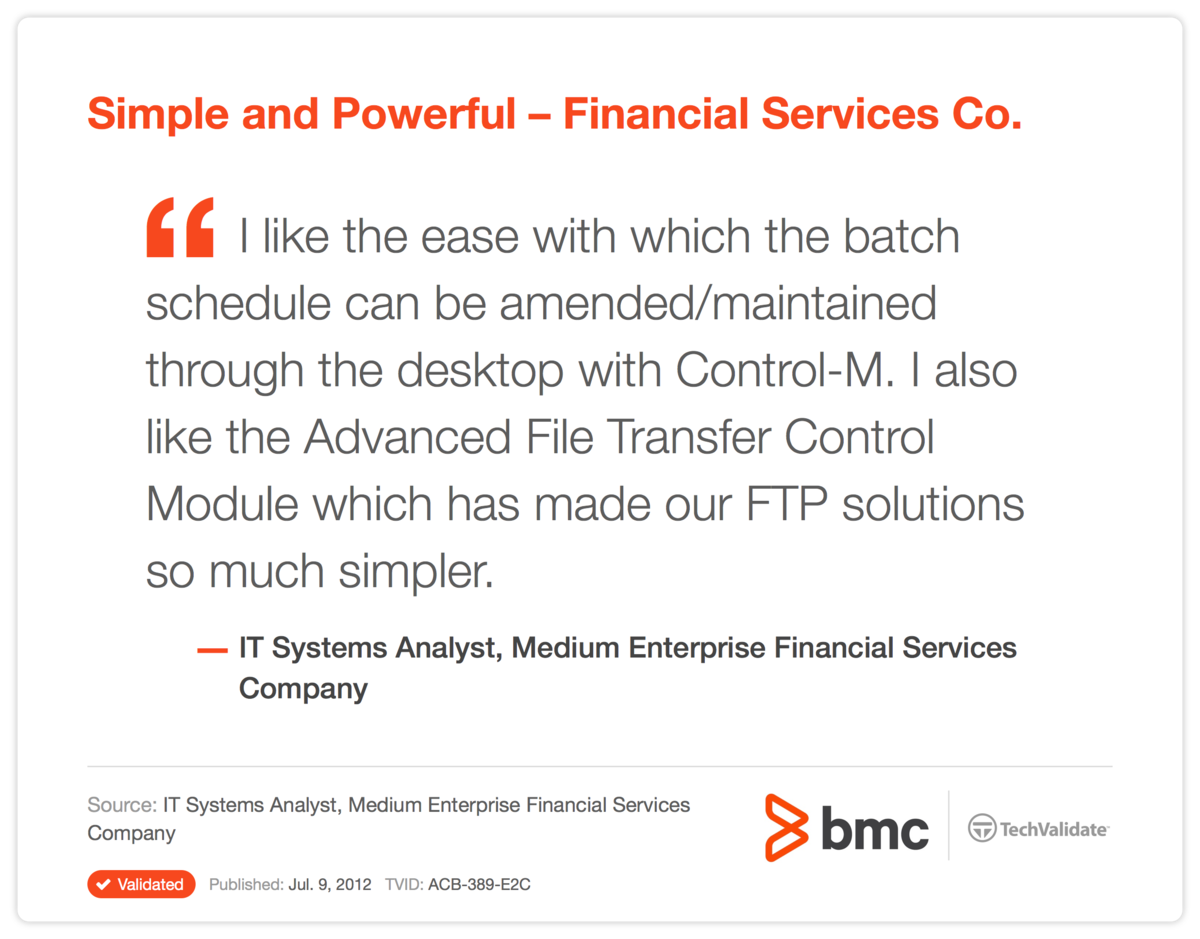Simple and Powerful-Financial Services Co.