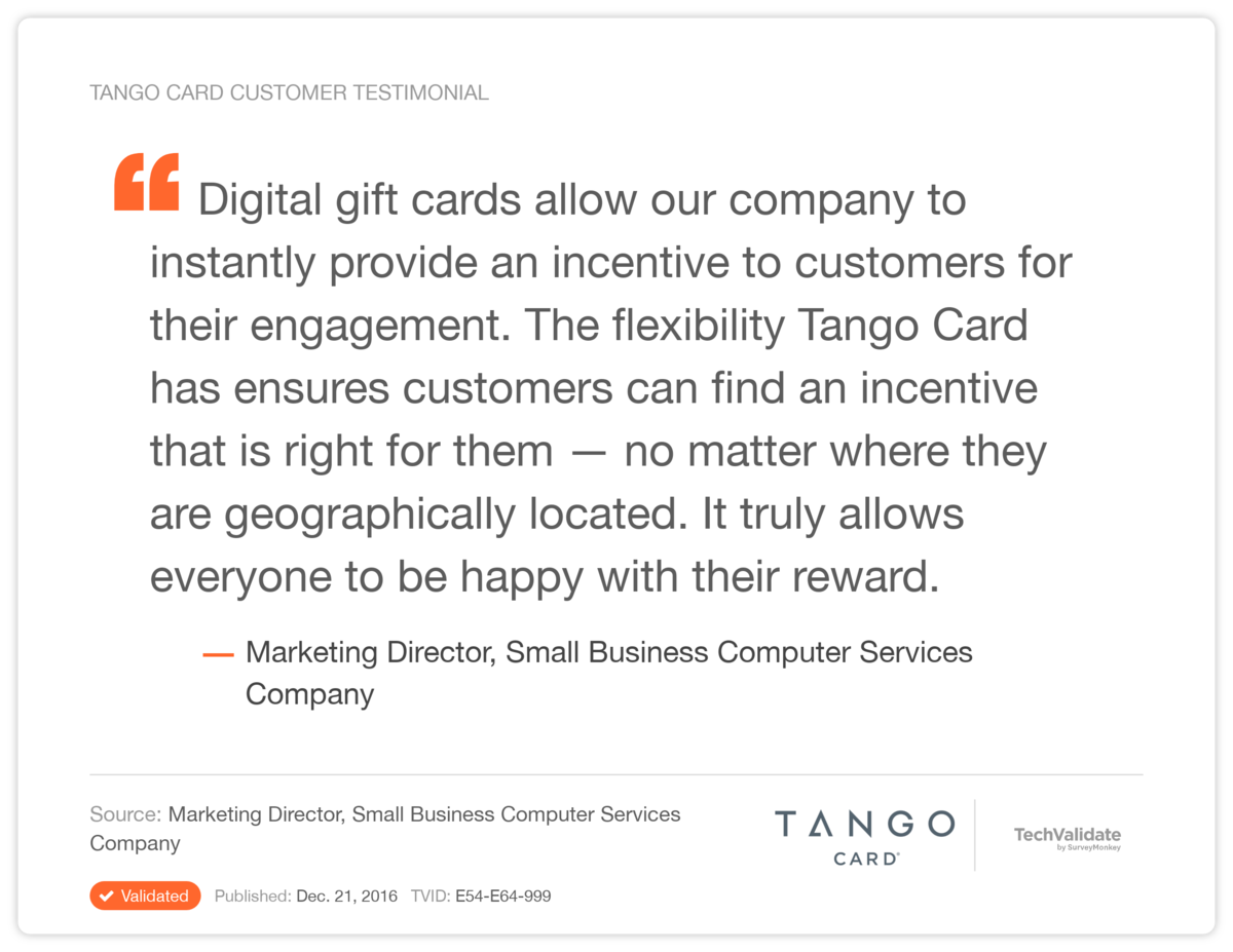 Customer Engagement Incentives Use Case Study