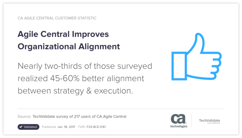 Agile Central Improves Organizational Alignment