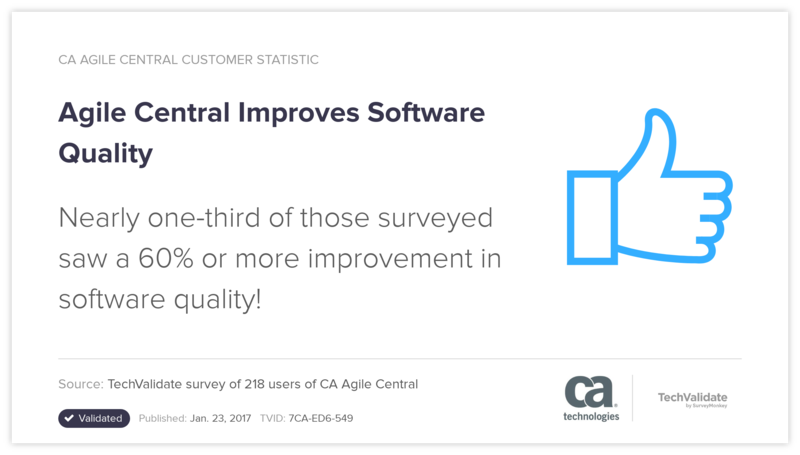 Agile Central Improves Software Quality