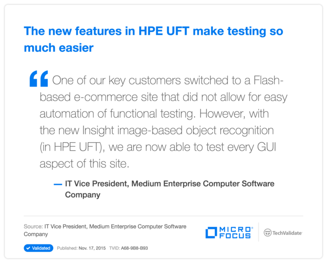 The new features in HPE UFT make testing so much easier