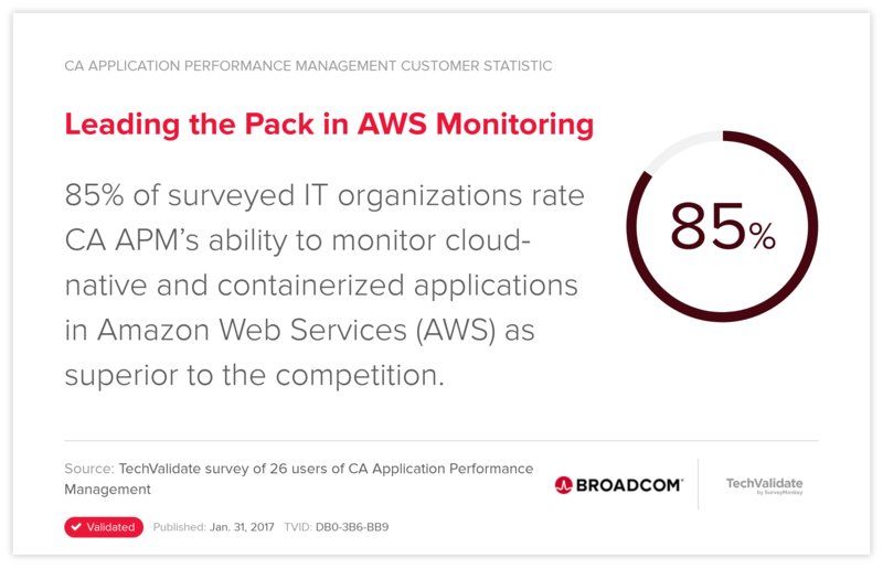 Leading the Pack in AWS Monitoring