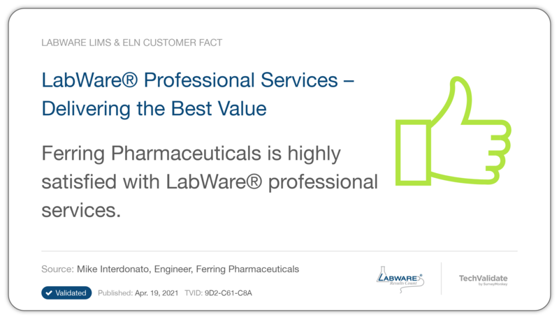 LabWare Professional Services-Delivering the Best Value
